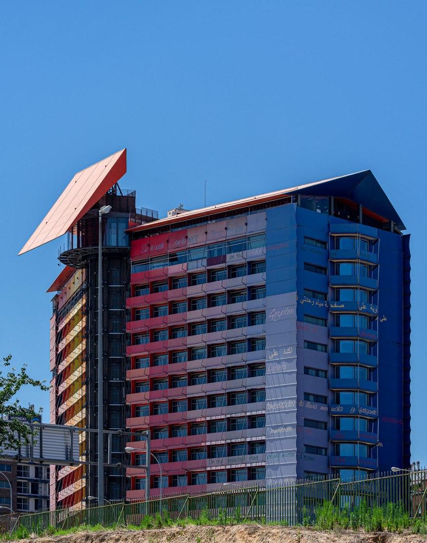 Hotel Puerta América en la VII edición de Open House Madrid. Fotografía por ©David Spence.