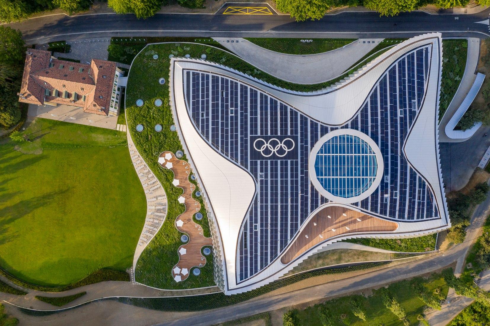La nueva Casa Olímpica por 3XN en Lausana. Fotografía © 2019 / Comité Olímpico Internacional (COI) / MORK, Adam - Todos los derechos reservados.