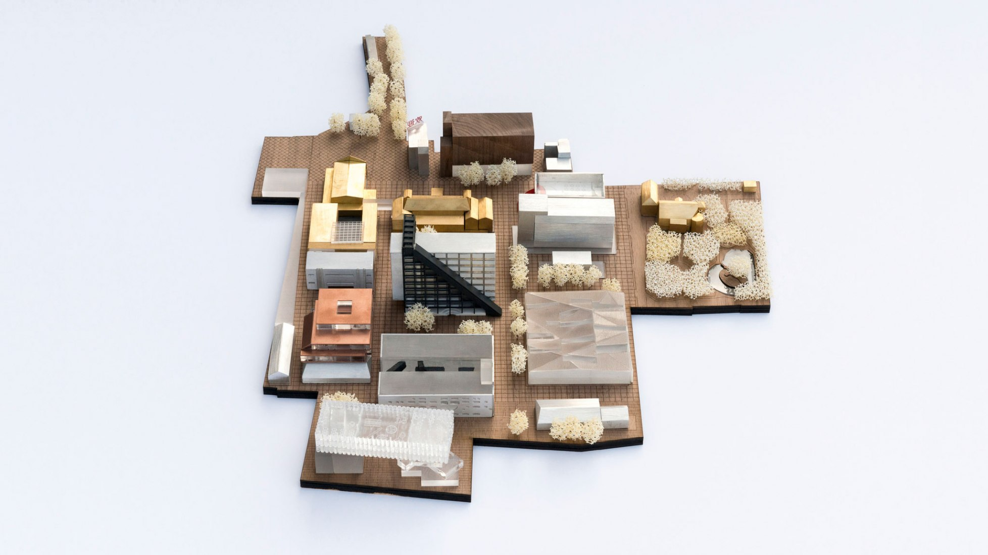 Model overview. Columbia Circle by OMA. Photograph @ Frans Parthesius, Courtesy of OMA.
