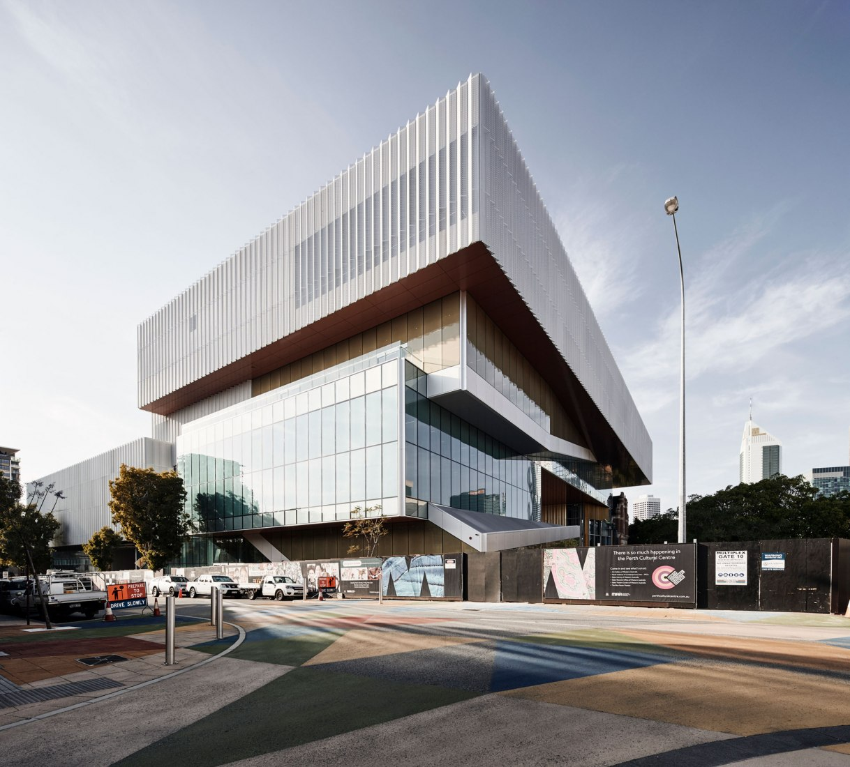 New Museum for Western Australia by HASSELL + OMA. Photography by Peter Bennetts; image courtesy of HASSEL + OMA