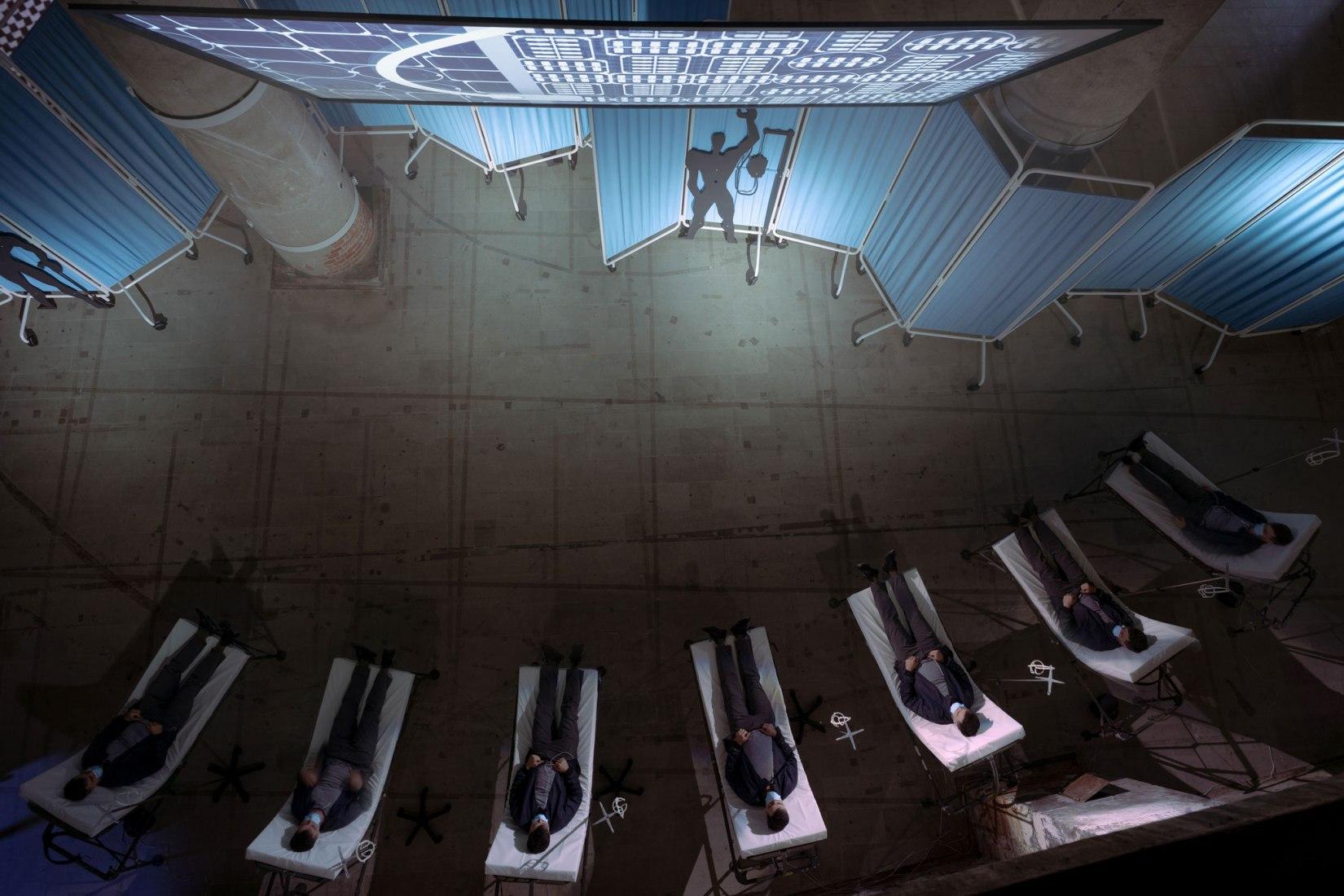 Hospital del futuro por OMA / Reinier de Graaf. Fotografía por Riccardo De Vecchi, cortesía de OMA.