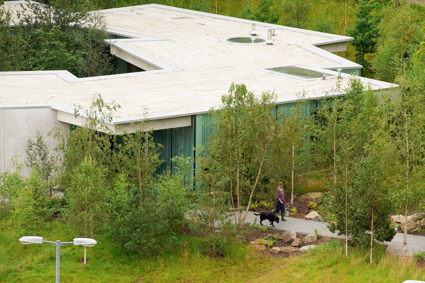 Maggie's Centre, Gartnavel Hospital, by OMA. Photograph by Philippe Ruault