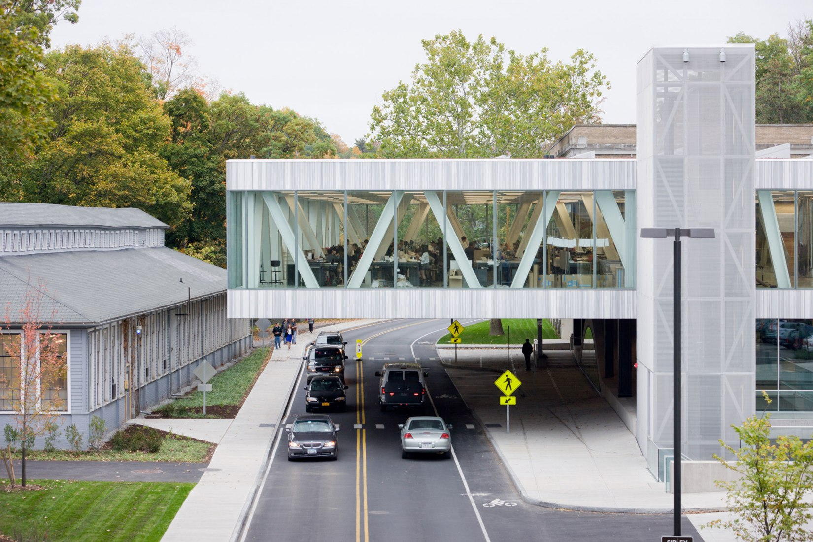 Cornell Milstein Hall by OMA New York. Image courtesy OMA; photography by Iwan Baan