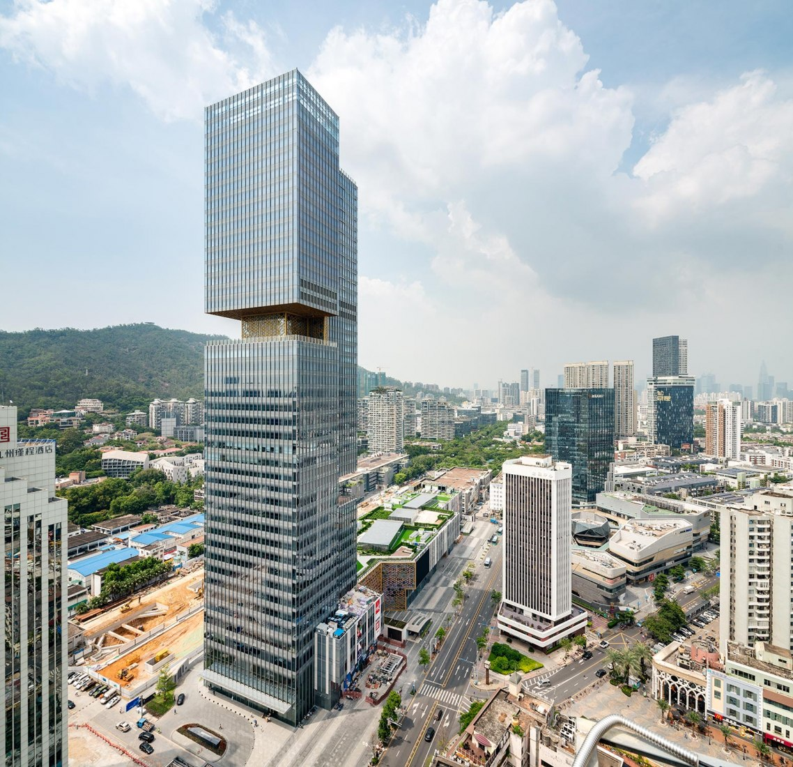 Prince Plaza in Shenzhen, by OMA. Photograph by Seth Powers for OMA
