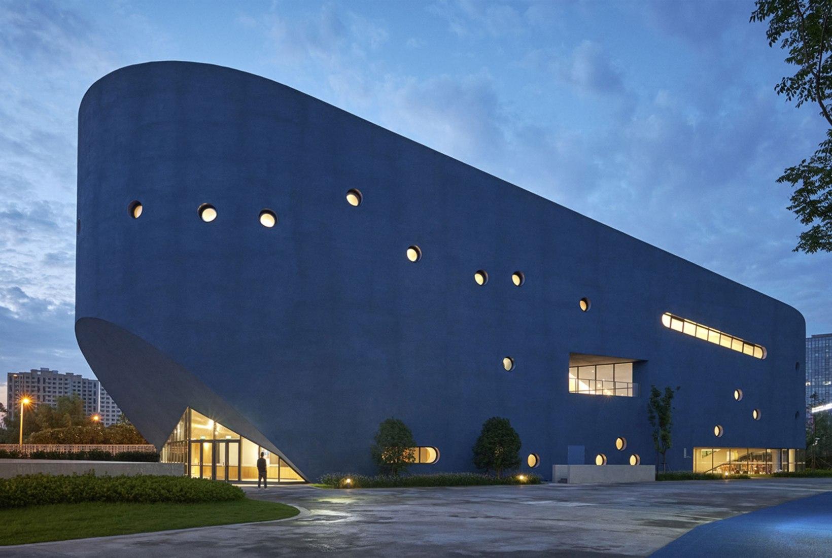 Pinghe Bibliotheater por OPEN Architecture. Fotografía por Jonathan Leijonhufvud