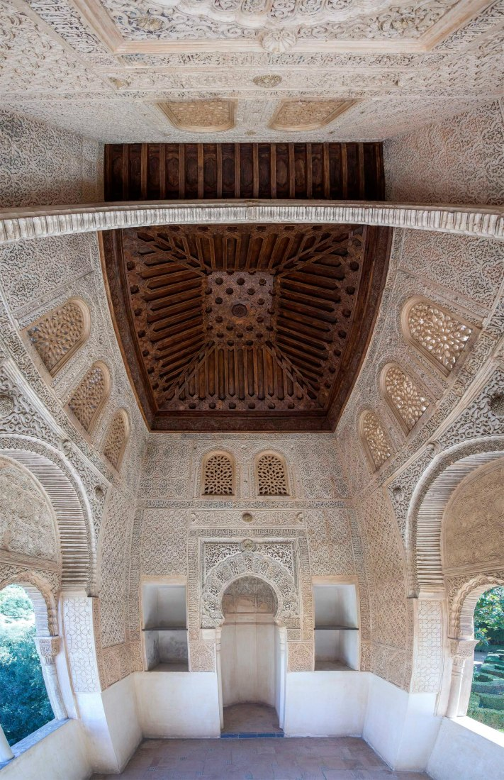 Renovation of the Partal Oratory in the Alhambra of Granada by W+G Arquitectos. Photograph courtesy of La Alhambra y el Generalife, 2017.