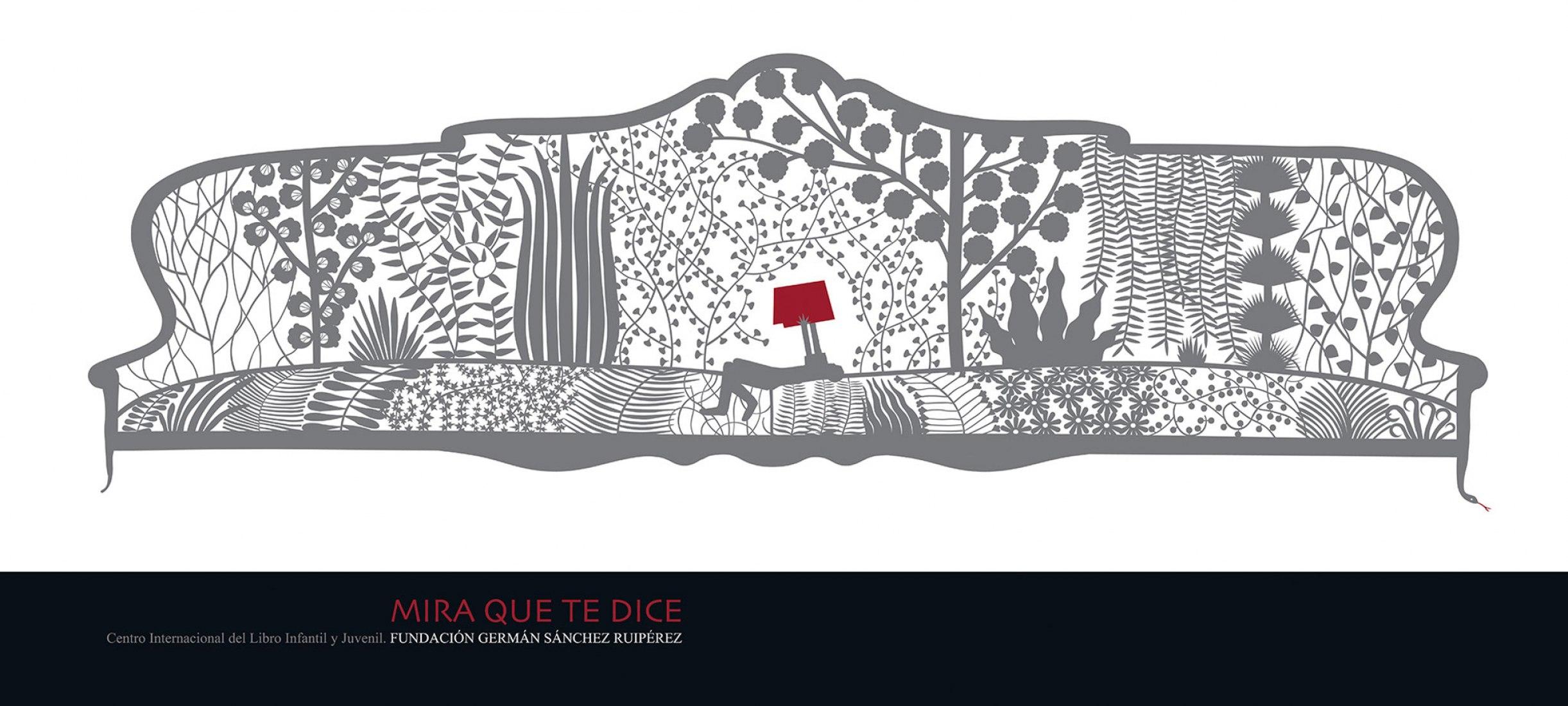 Pablo Amargo. Poster for the Fundación Germán Sánchez Ruipérez, 2009