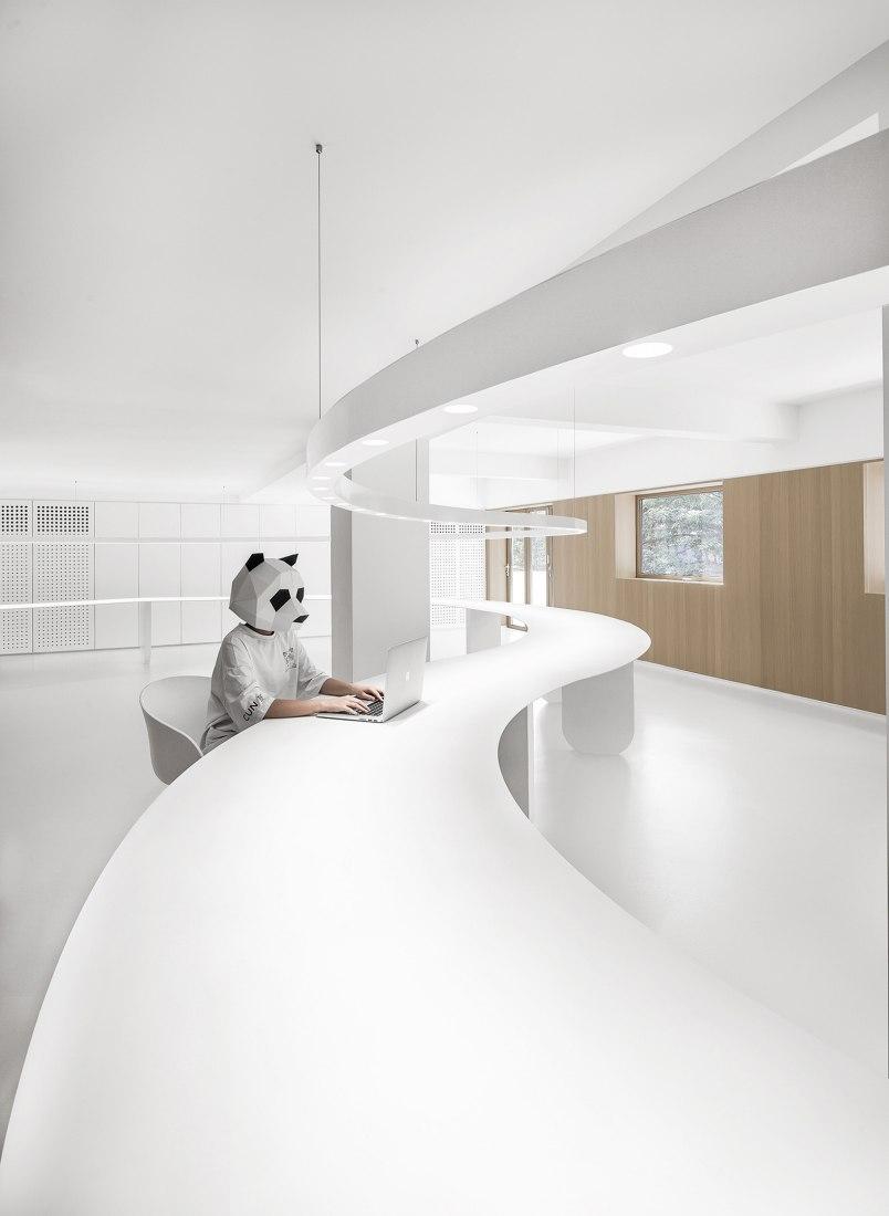 Oficina de CUN Panda por PANDA Design. Fotografía por GL YANG