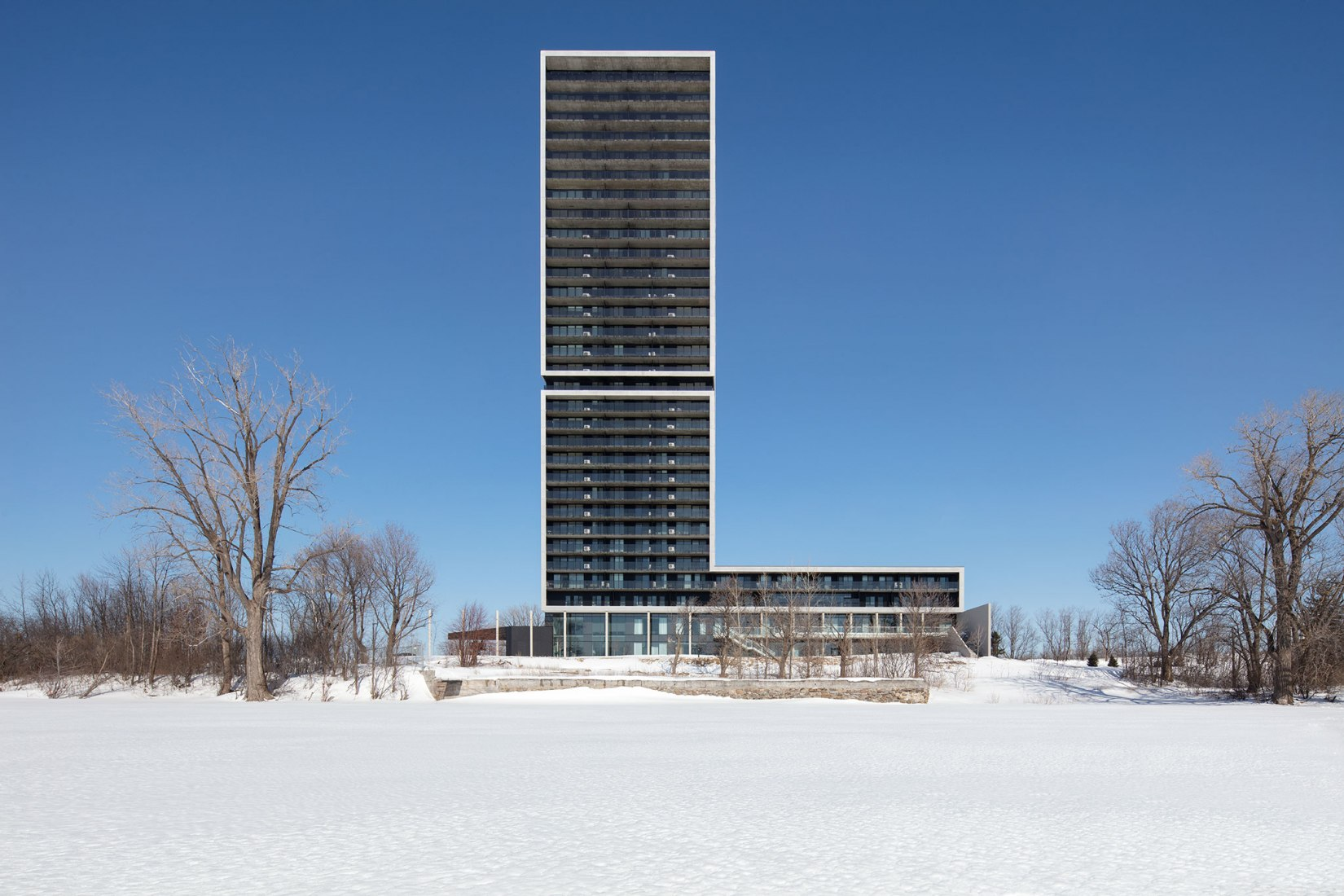 Panorama building by ACDF Architecture. Photograph by Adrien Williams