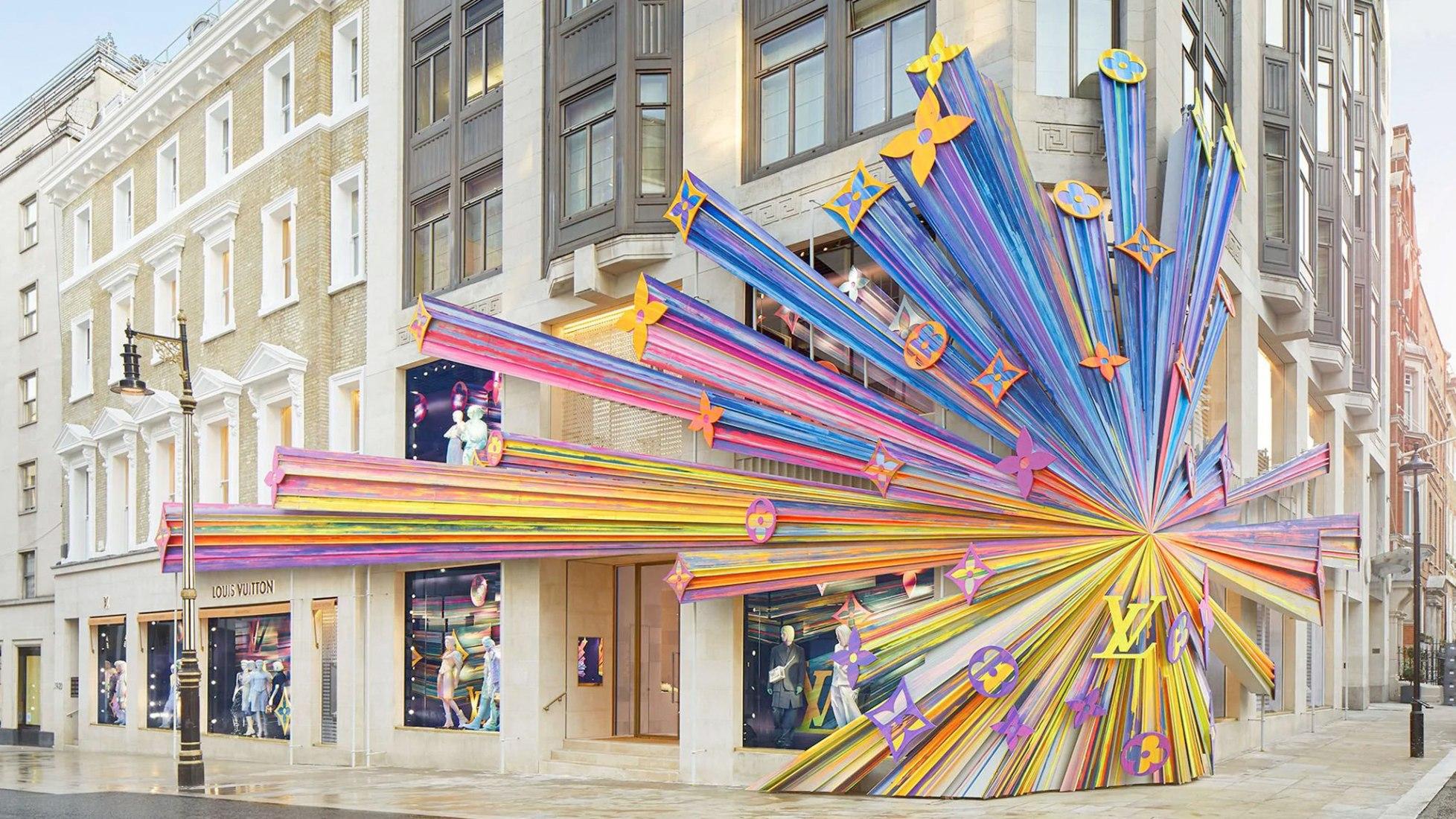 La tienda insignia de Louis Vuitton reformada por Peter Marino. Fotografía de Stephane Muratet, cortesía de Louis Vuitton