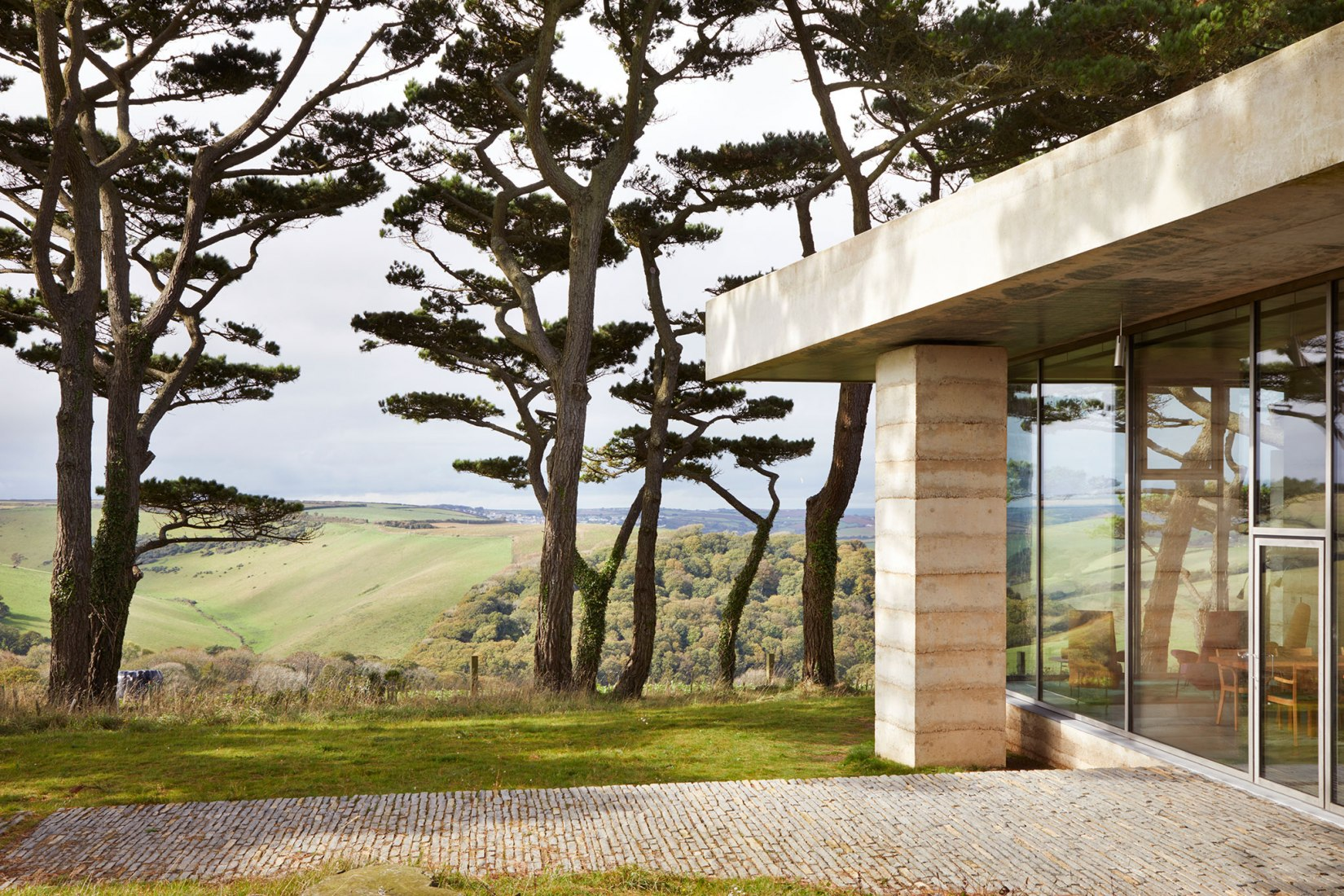 The Secular Retreat by Peter Zumthor. Photograph © Jack Hobhouse/Living Architecture