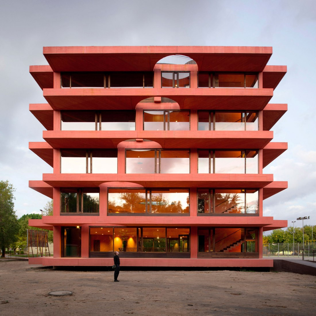 Centro de Innovación INES por Pezo von Ellrichshausen. Fotografía cortesía de Pezo von Ellrichshausen