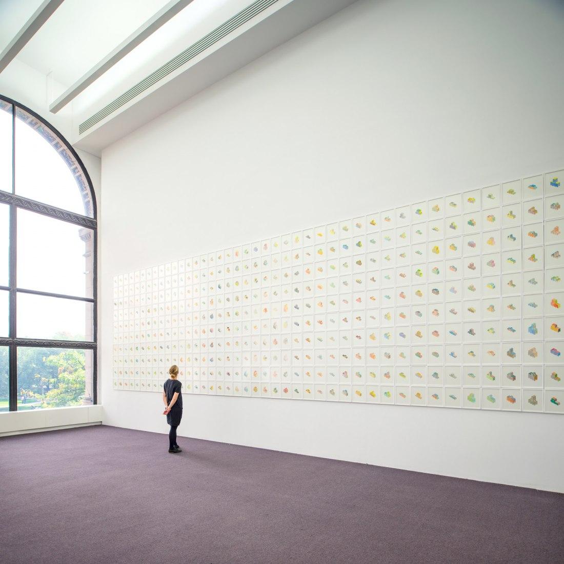 Finite Forma 04, by Pezo von Ellrichshausen. Photograph © Solo Galerie / Pezo von Ellrichshausen