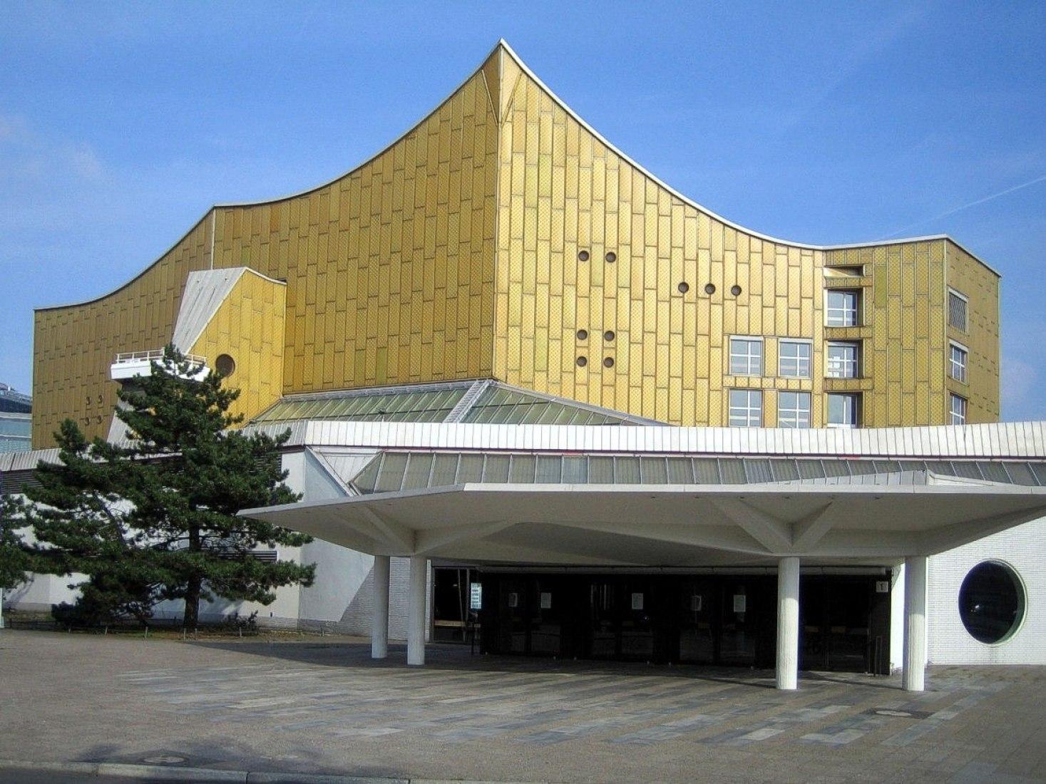 Wim Wenders (Alemania) - Filarmónica de Berlín en Berlín, Alemania. Imagen a través de Wikimedia Commons.