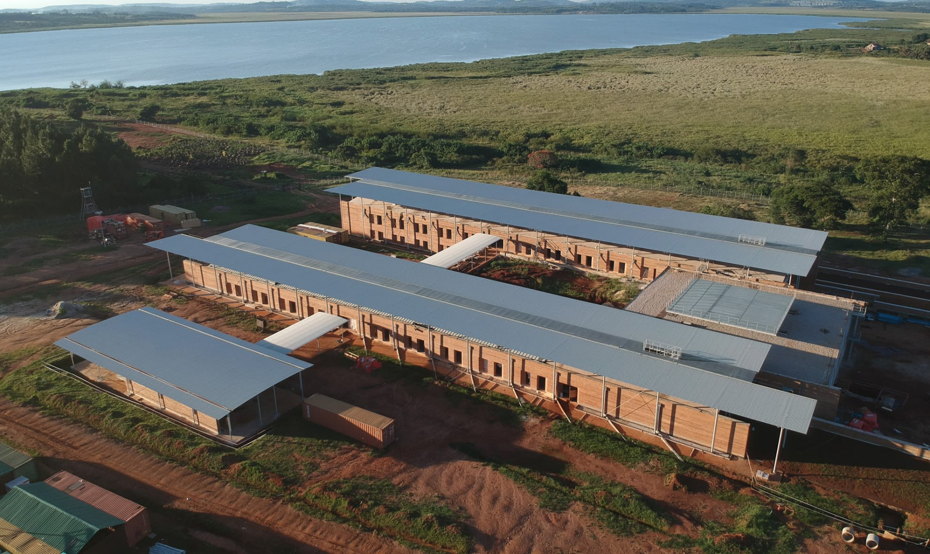 Centro de urgencias de cirugía infantil de Renzo Piano. Imagen cortesía de RPBW.