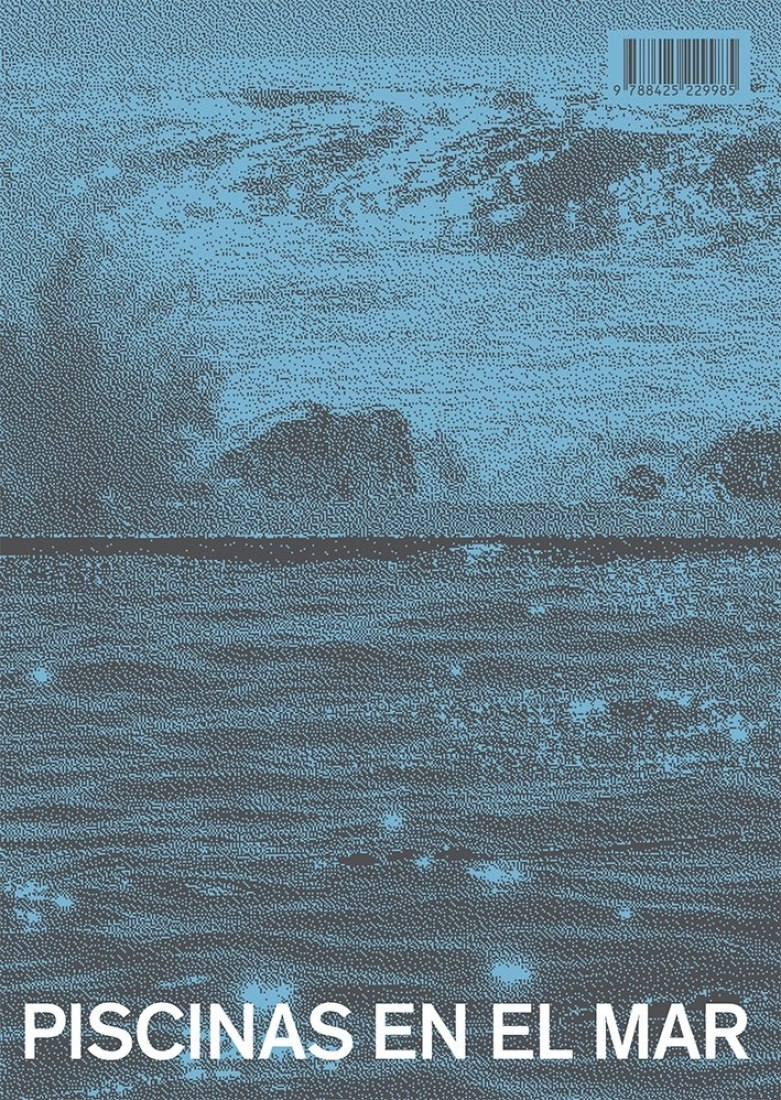 Back cover. Piscinas en el mar, Álvaro Siza Vieira. Gustavo Gili.