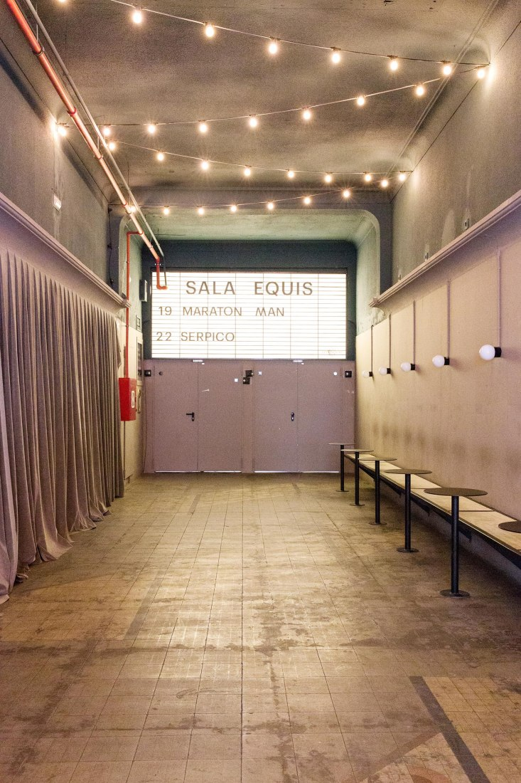 Sala equis, rehabilitación del cine x más antiguo de Madrid por Plantea Estudio. Fotografía © Alicia Macias