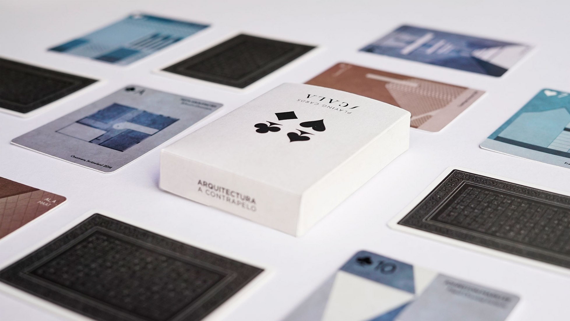 SCALA · Architecture Playing Cards by Arquitectura a contrapelo.