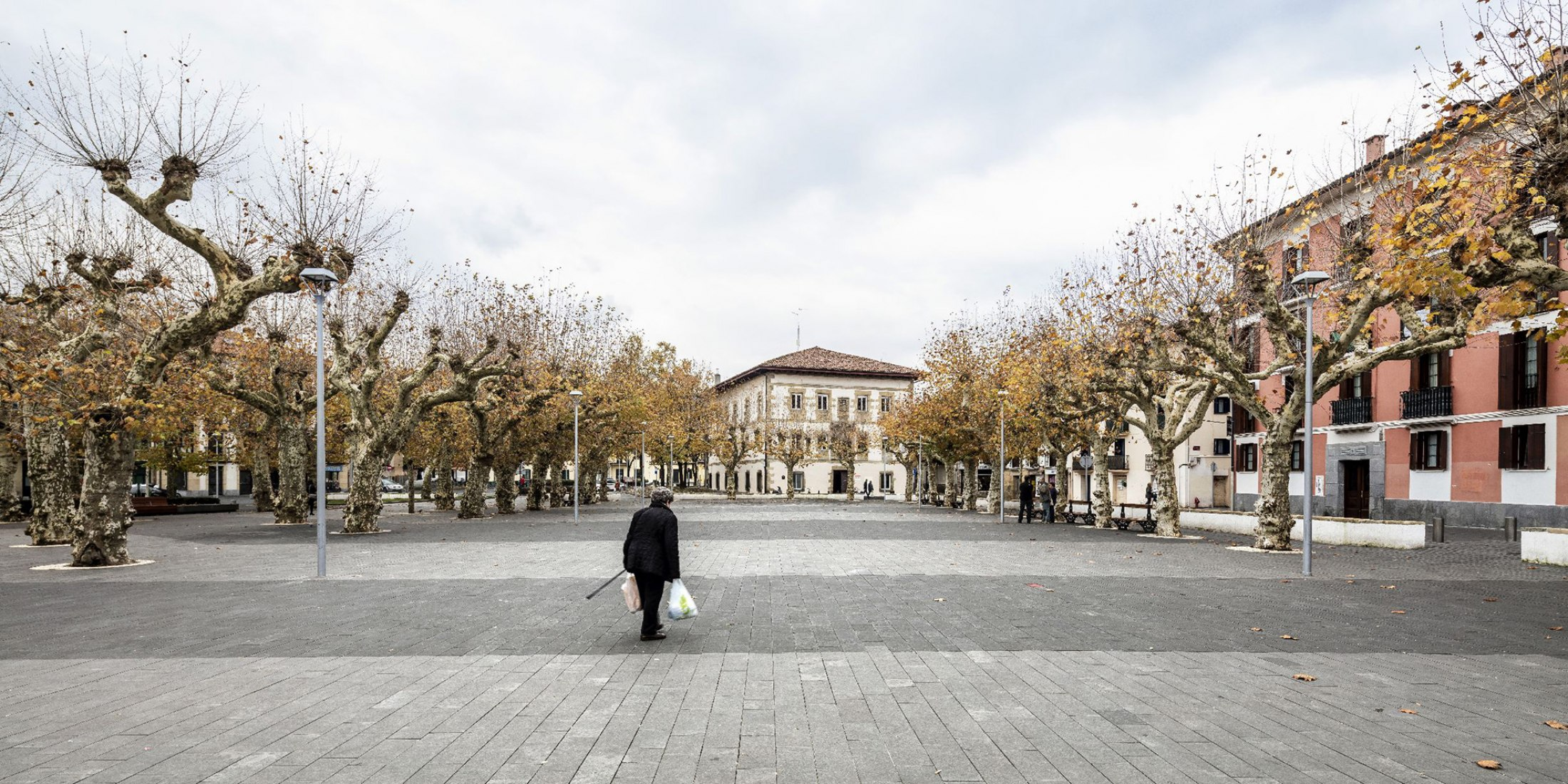 Plaza Urdanibia. The redevelopment of Irun's old town square by SCOB Arquitectura i Paisatge. Photograph © Adria Goula