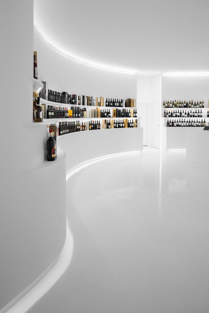 Portugal Vineyards Concept Store by Porto Architects. Photograph by Ivo Tavares Studio