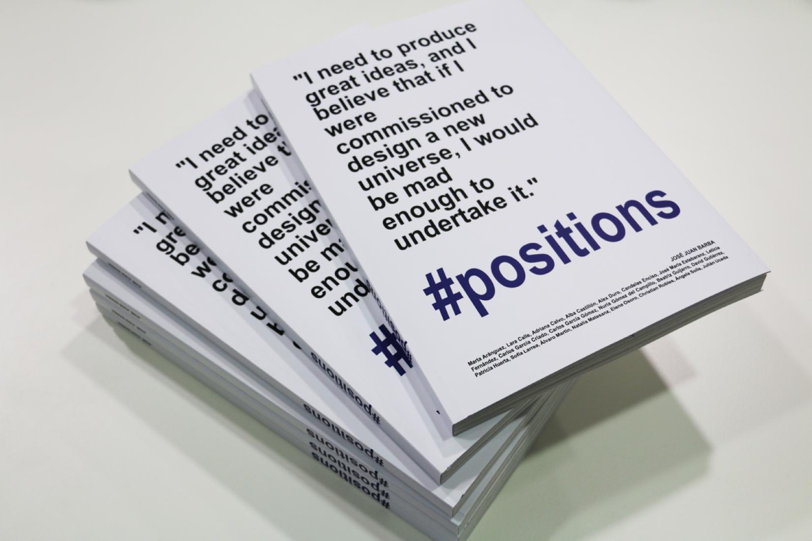 #positions, by José Juan Barba.