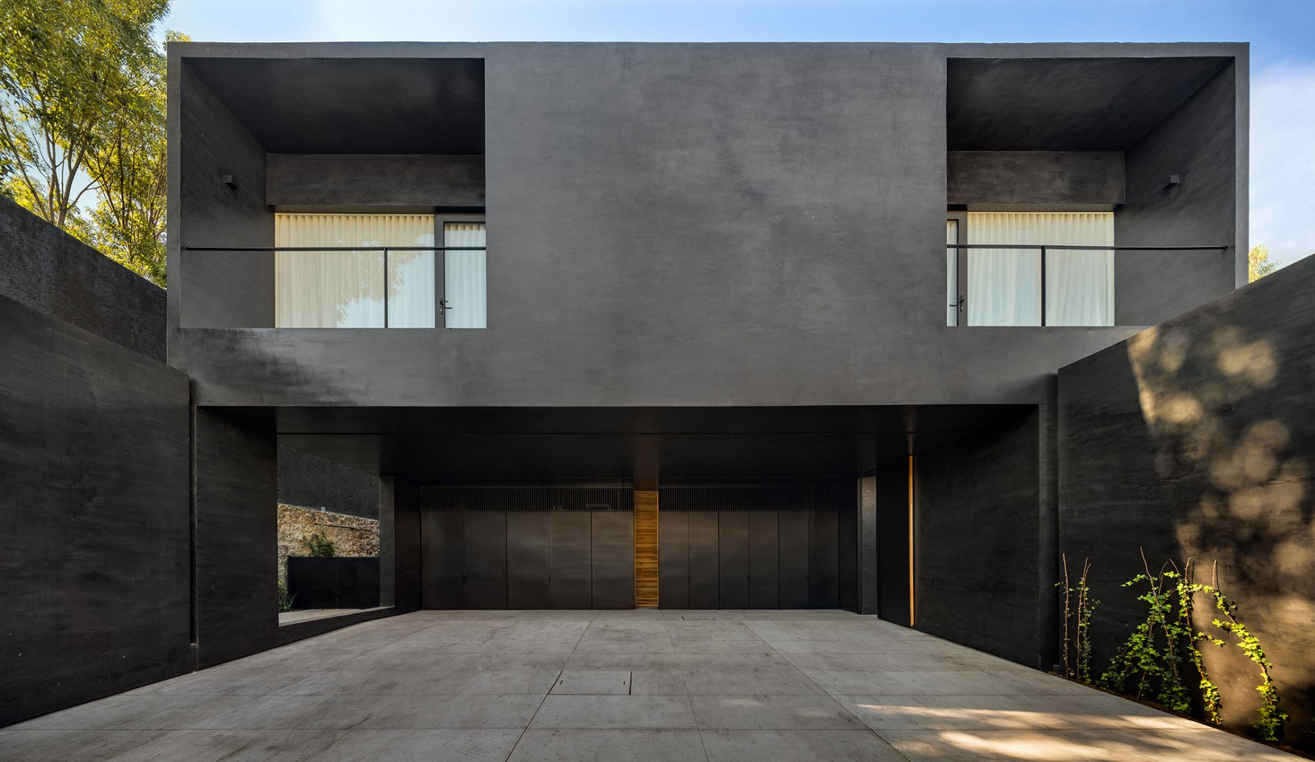 Casa Lluvia por PPAA. Fotografía por Rafael Gamo
