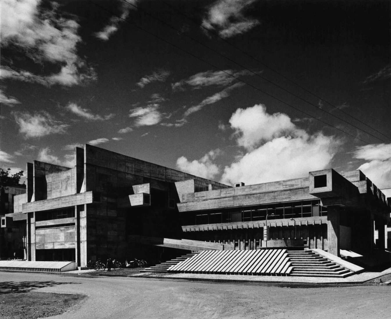 Oita Prefectural Library. Photography © Yasuhiro Ishimoto