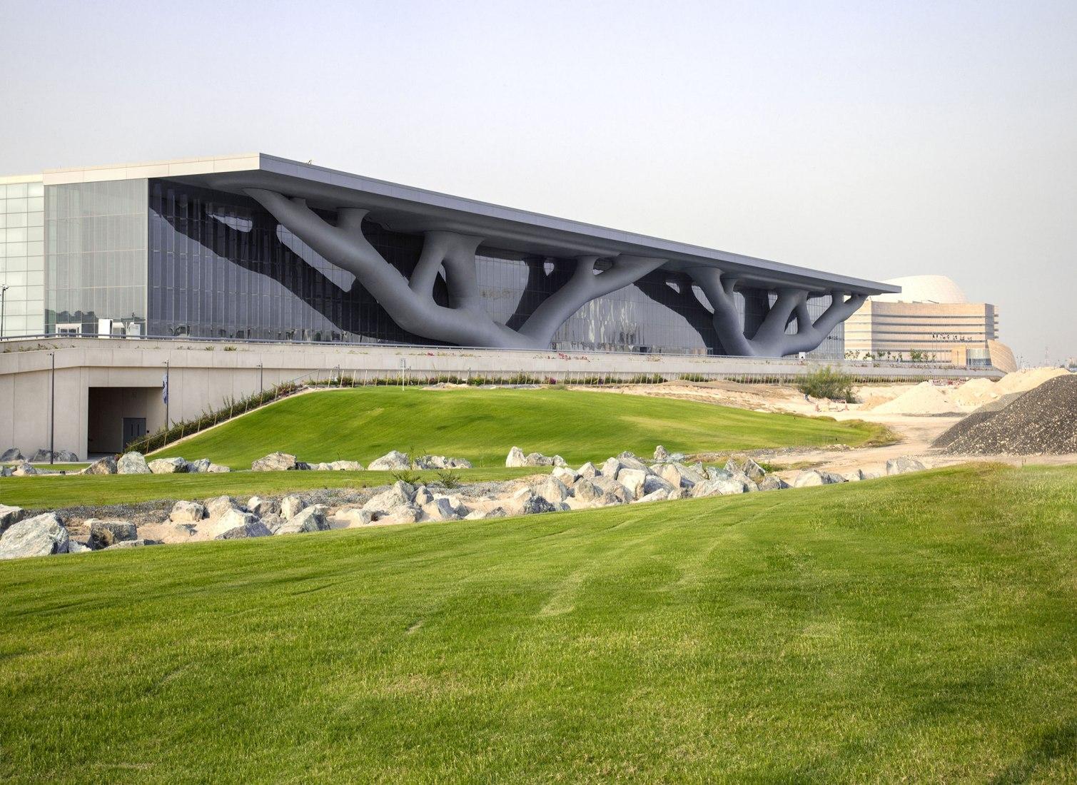 Qatar National Convention Center. Photography © Hisao Suzuki
