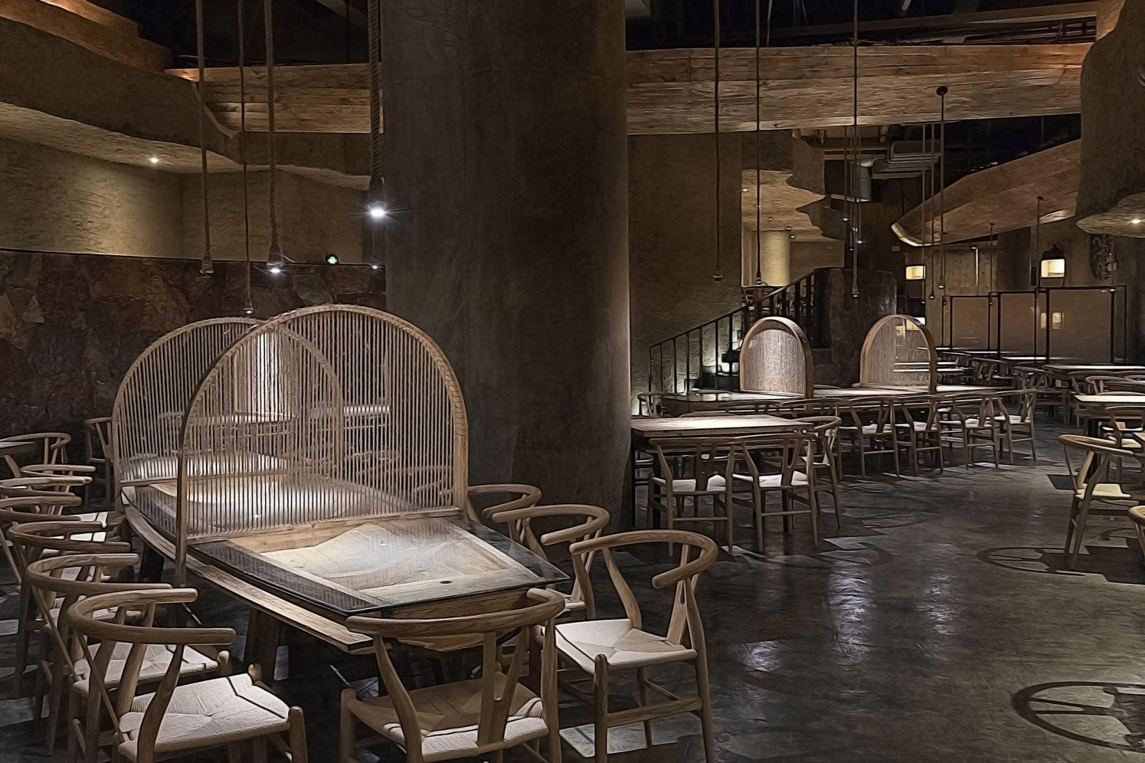 Restaurante Pu Zao por Xu Xu-Jun. Fotografía © Xu Xu-Jun