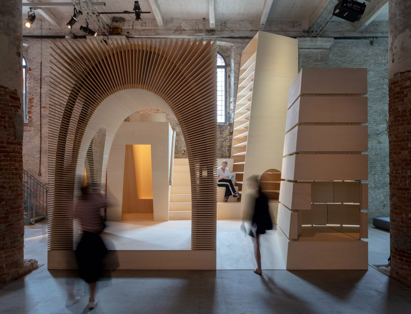 'ReCasting' by Alison Brooks Architects at the Biennale Architettura di Venezia 2018. Photograph by Luke Hayes