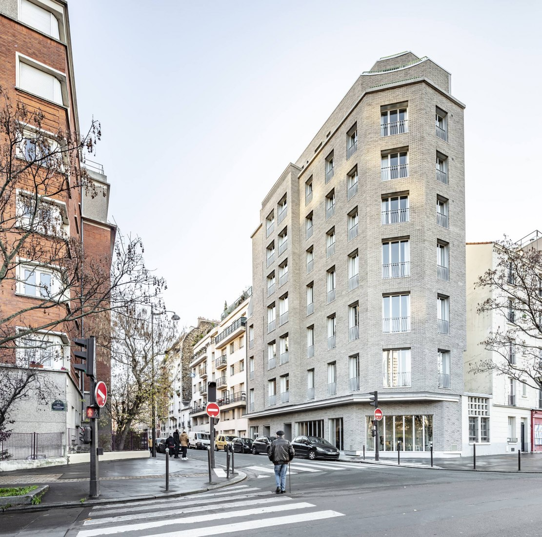 Refurbishment 19 rue de Ridder by CoBe Architecture et Paysage. Photograph by Luc Boegly