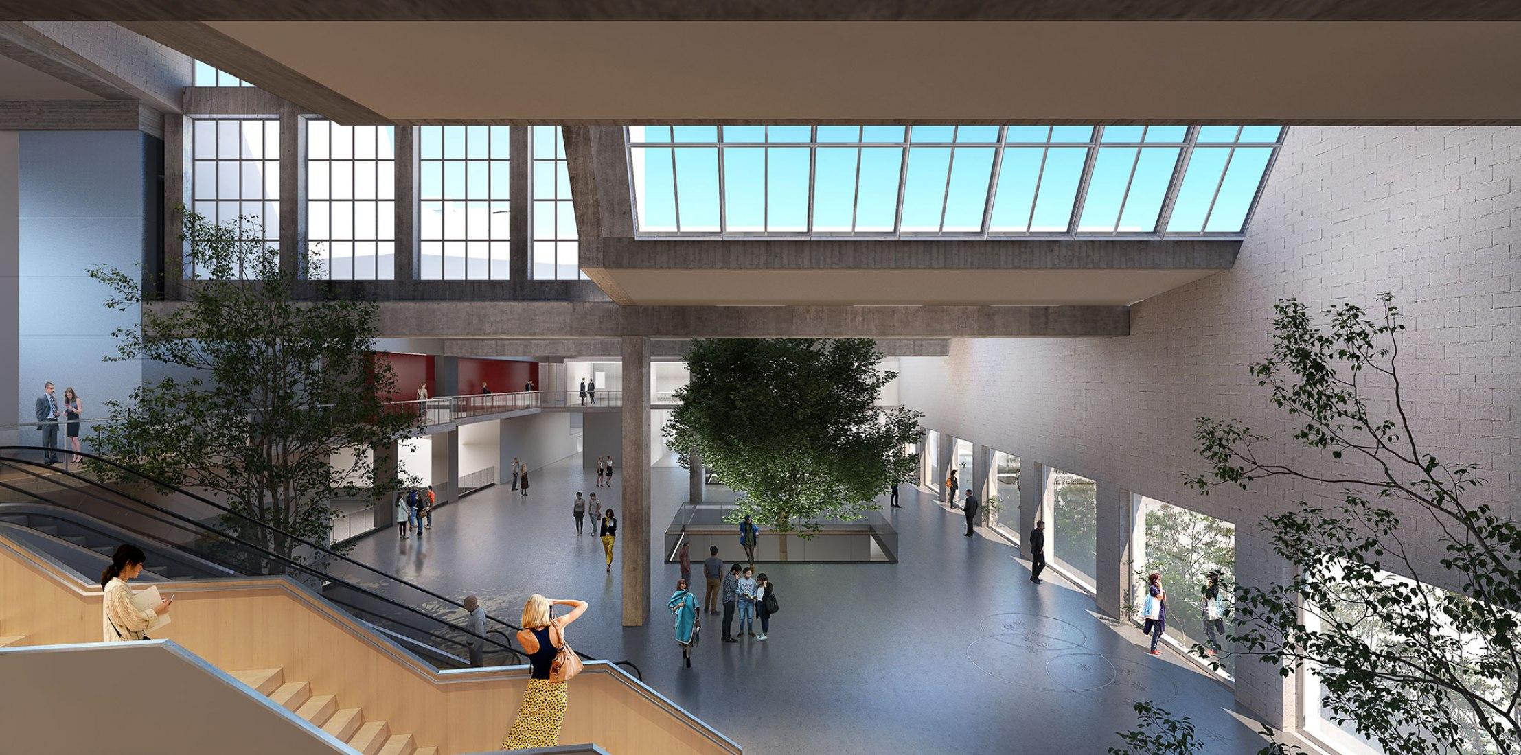 Visualización. El proyecto Val_Verde transformará la fábrica CLESA de Alejandro de la Sota para el concurso Reinventing Cities.