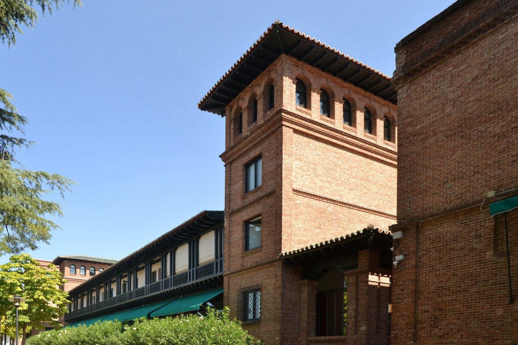 Residencia de Estudiantes de Madrid. Vista exterior del Pabellón Transatlántico. Fotografía © Álvaro Lamas/METALOCUS