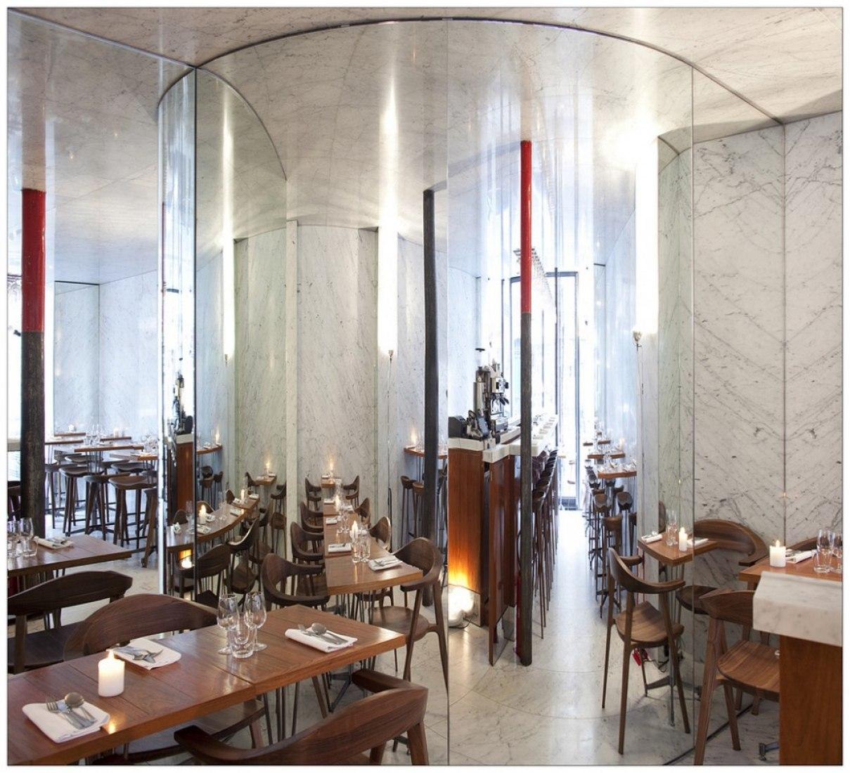 Restaurant Le Dauphin por OMA. Fotografía © Clément Blanchet