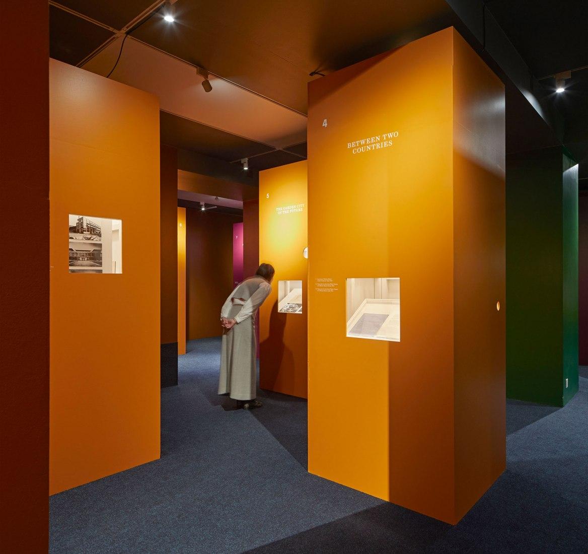 Beyond Bauhaus, Modernism in Britain 1933–66, exhibition. Photograph by Edmund Sumner.