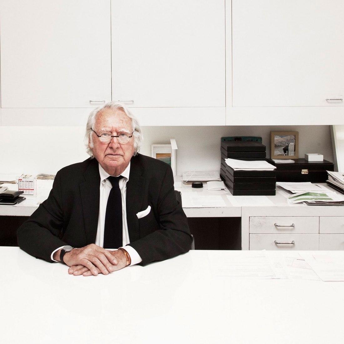 Richard Meier. Cortesía de Silja Magg