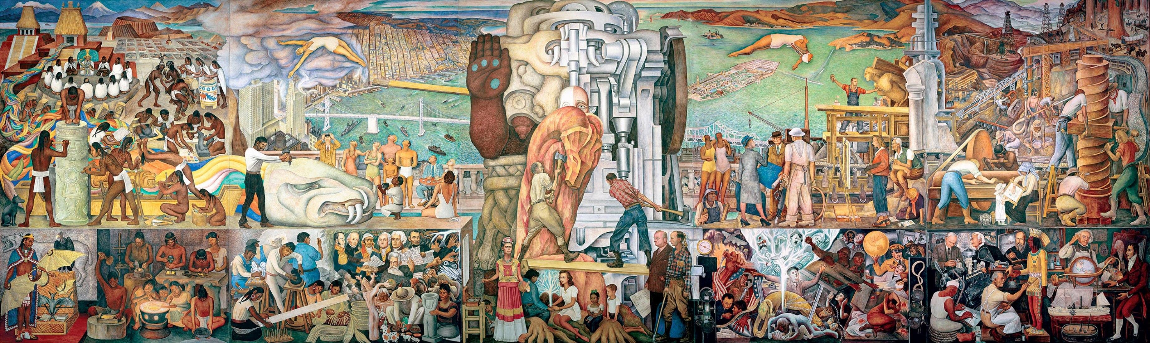 El Mural Unidad Panamericana Sera Parte De La Gran Exposicion