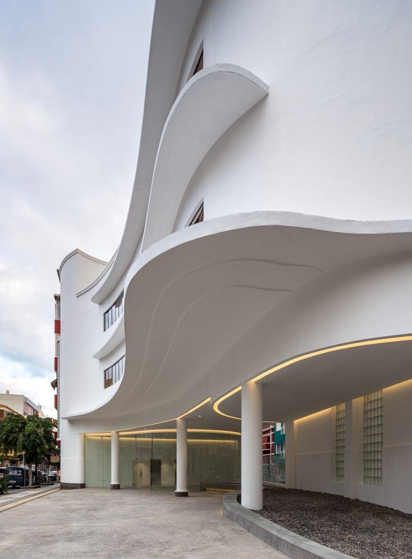 afetería Tomás Morales por Romera y Ruiz Arquitectos. Fotografía por Simón García