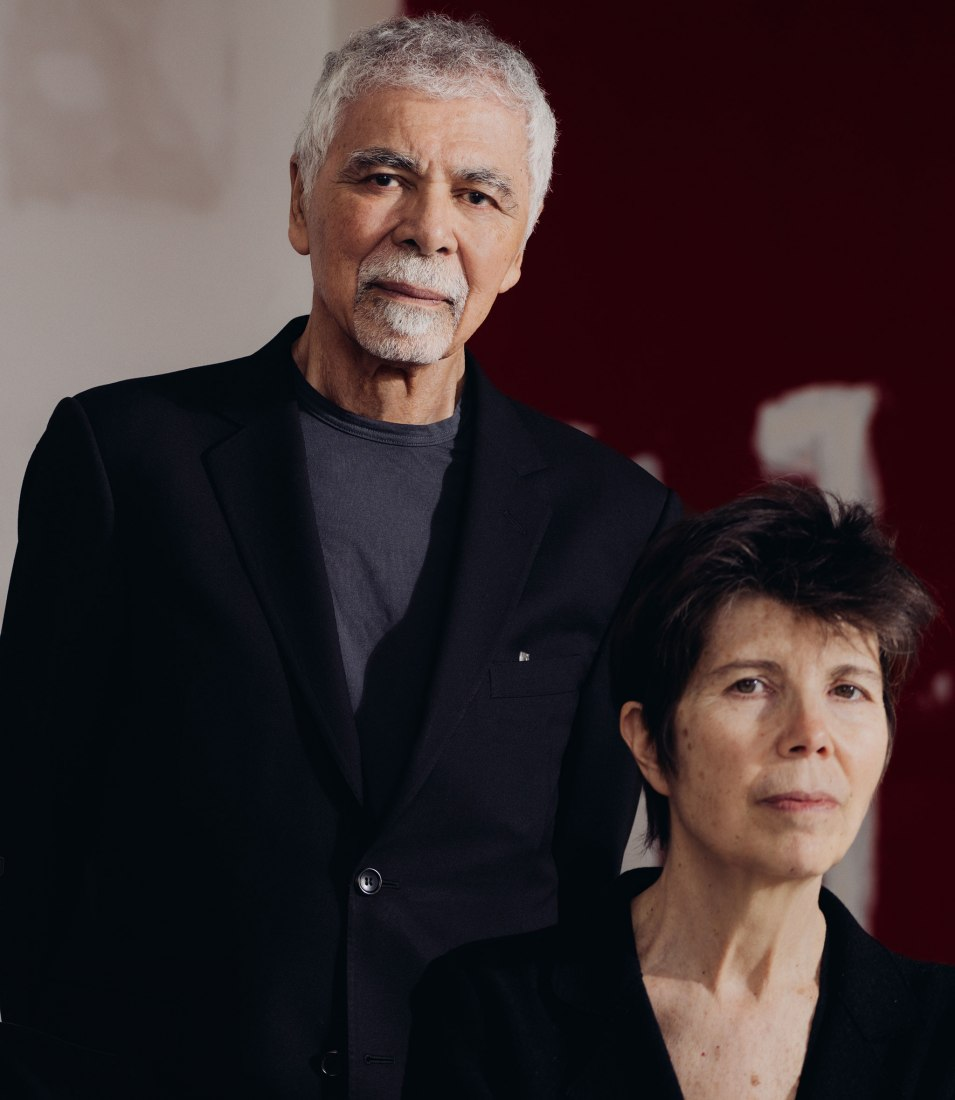 Ricardo Scofidio and Elizabeth Diller. Photograph by Geordie-Wood