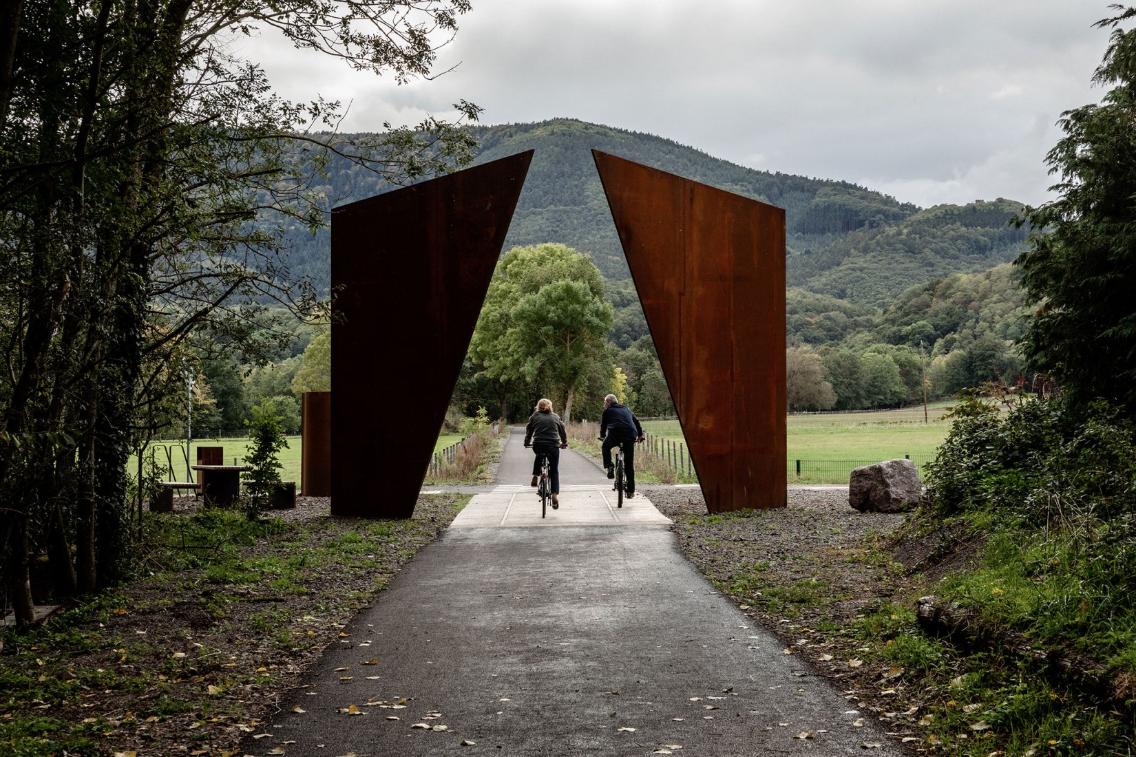 Chemin des Carrières by Reiulf Ramstad Arkitekter. Photograph by Florent Michel @11h45