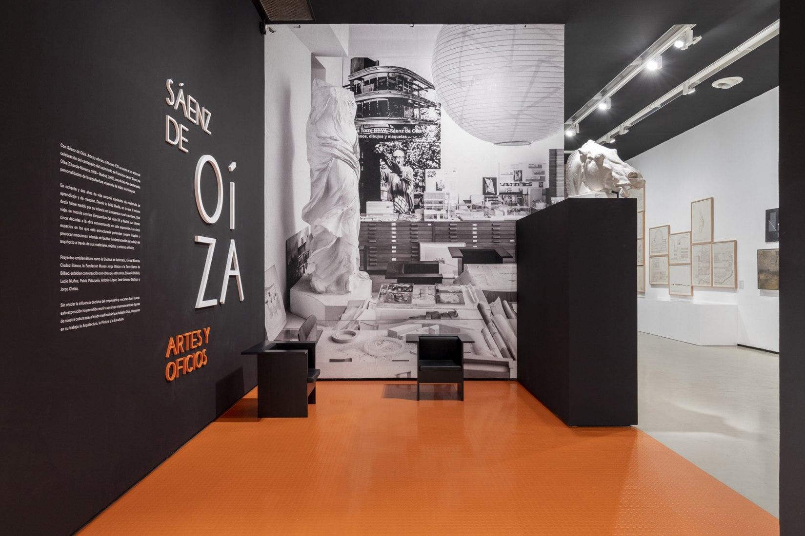 Imagen de la inauguración de la exposición en el Museo ICO. 06 de febrero de 2020. Fotografía por Museo ICO