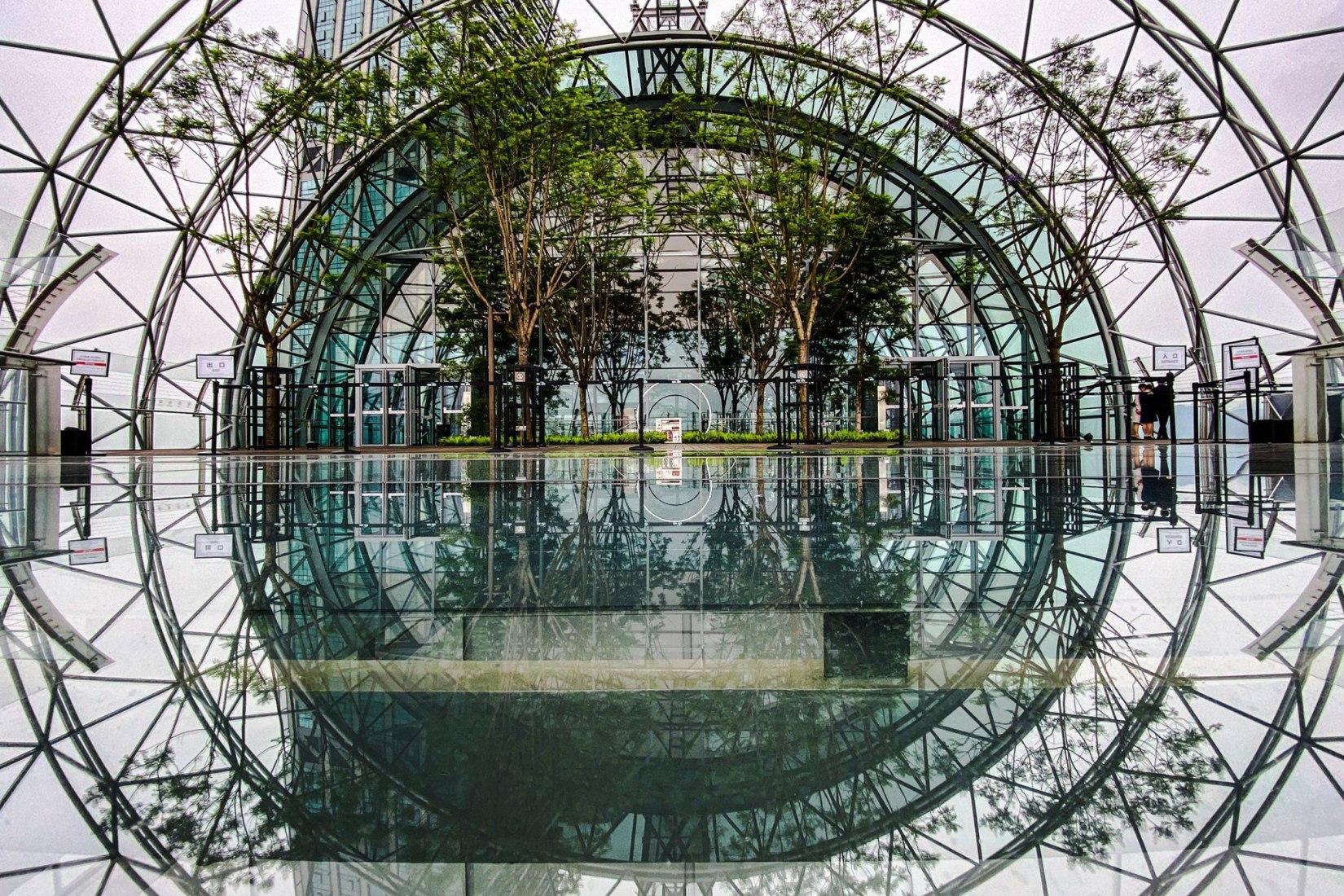 Crystal. Raffles City Chongqing por Safdie Architects. Imagen cortesía de CapitaLand
