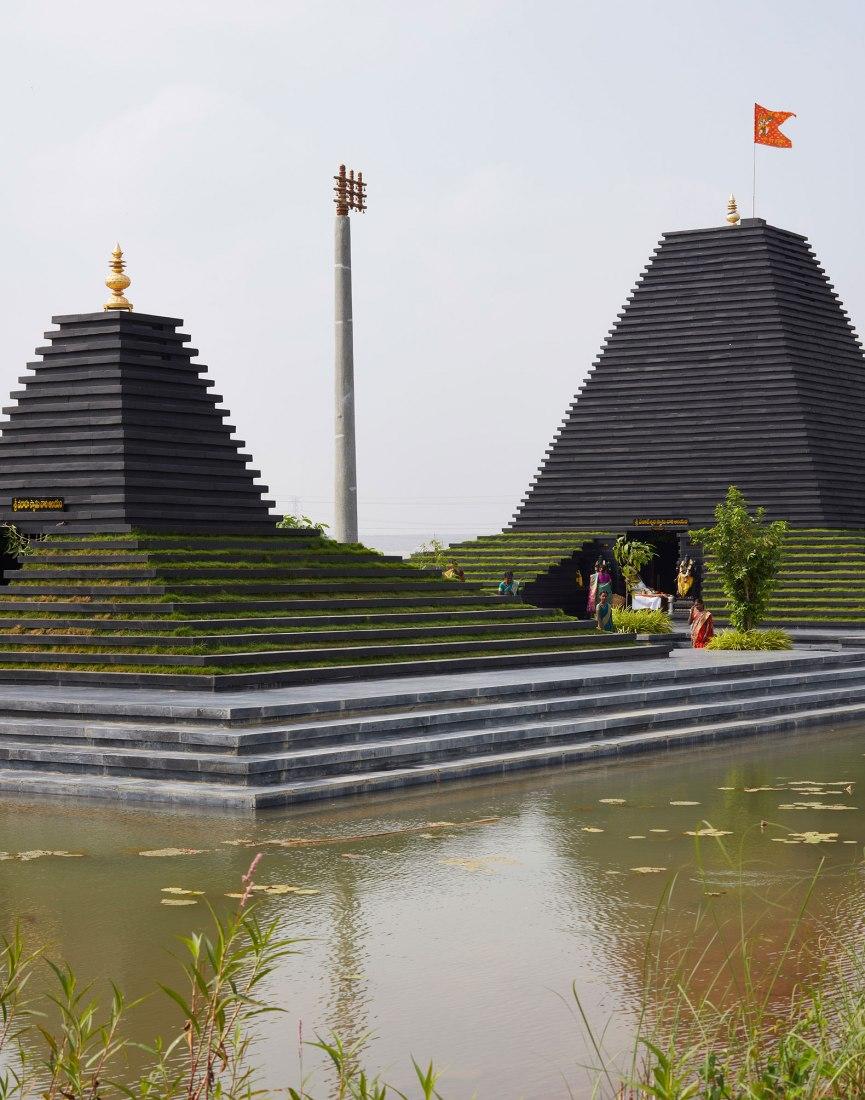 Templo Balaji por Sameep Padora & Associates. Fotografía por Edmund Sumner