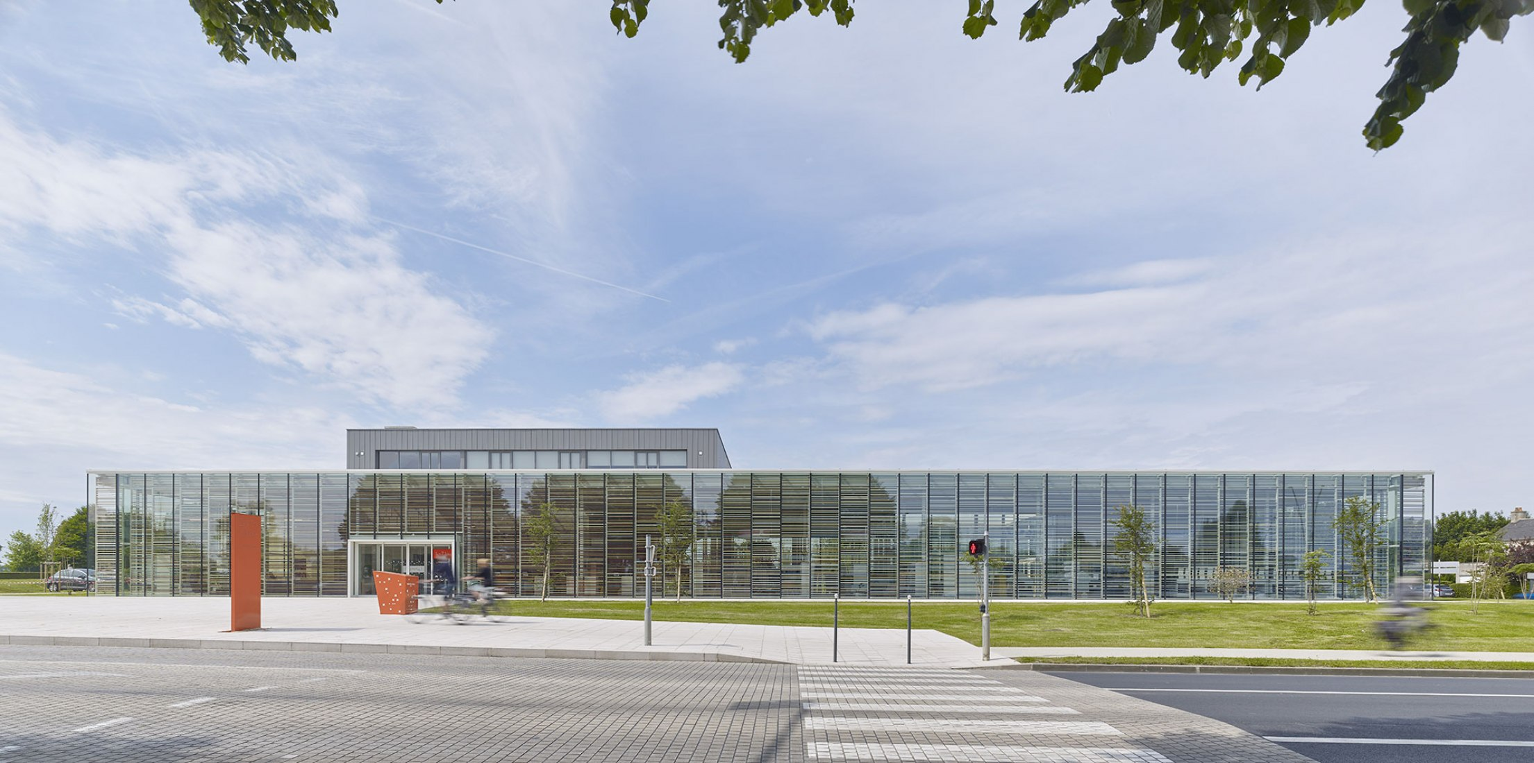 Bayeux Media Library by David Serero. Photograph by Didier Boy de la Tour