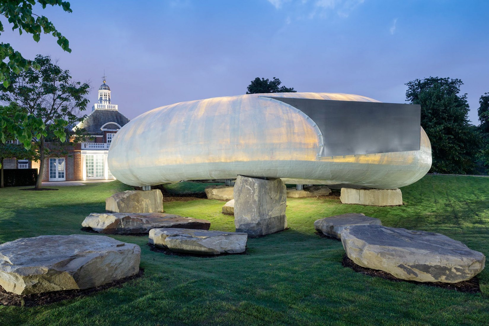 Serpentine Gallery Pavilion 2014. Designed by Smiljan Radić. Photograph © 2014 Iwan Baan.