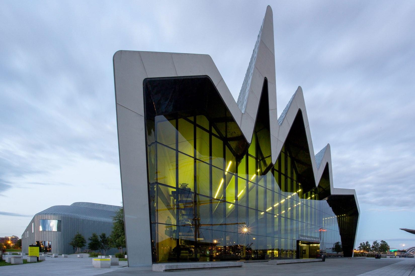 Museo de Riverside - Zaha Hadid. Fotografía de © Silvia García Caballero