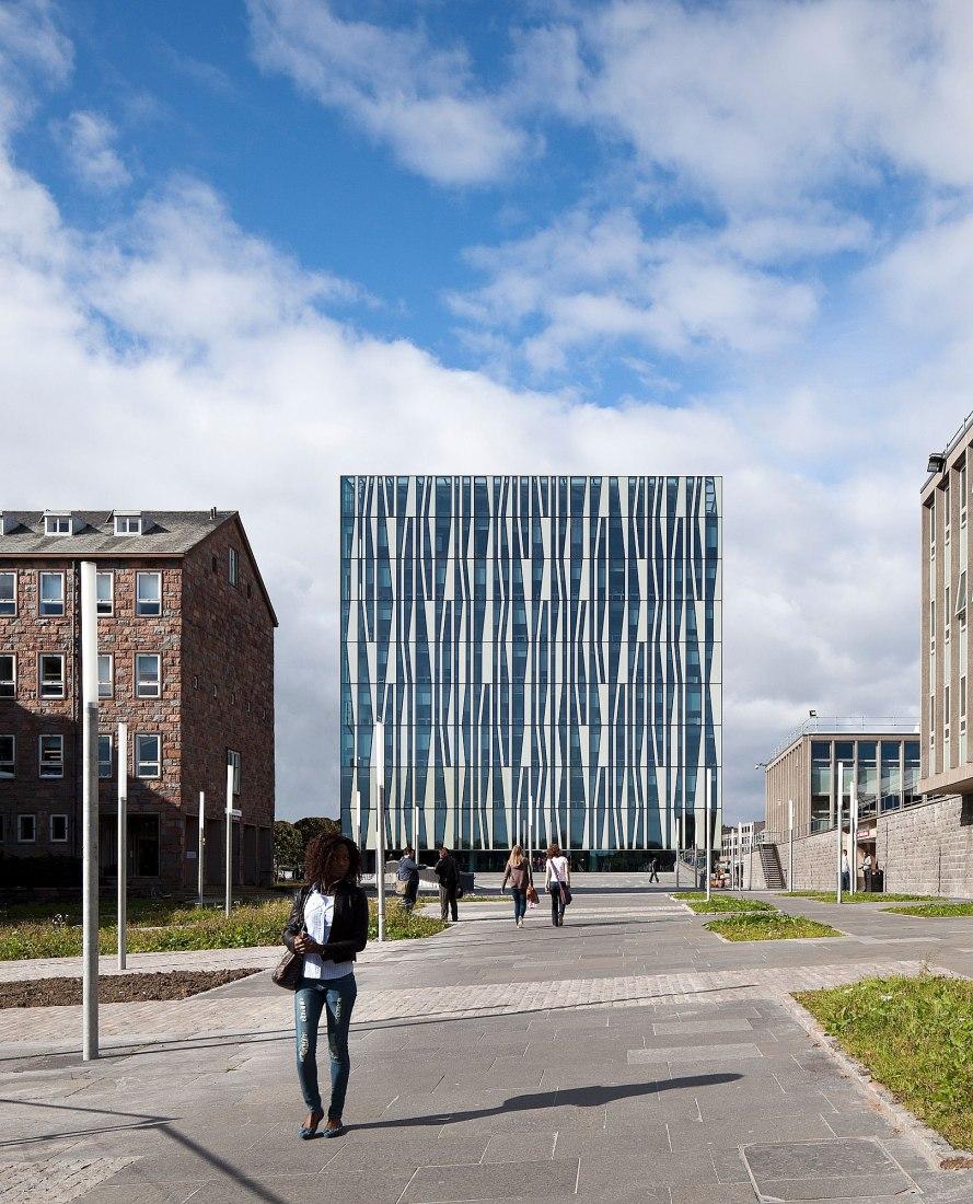 Universidad de Aberdeen Nueva Biblioteca. Fotografía © Schmidt Hammer Lassen Architects