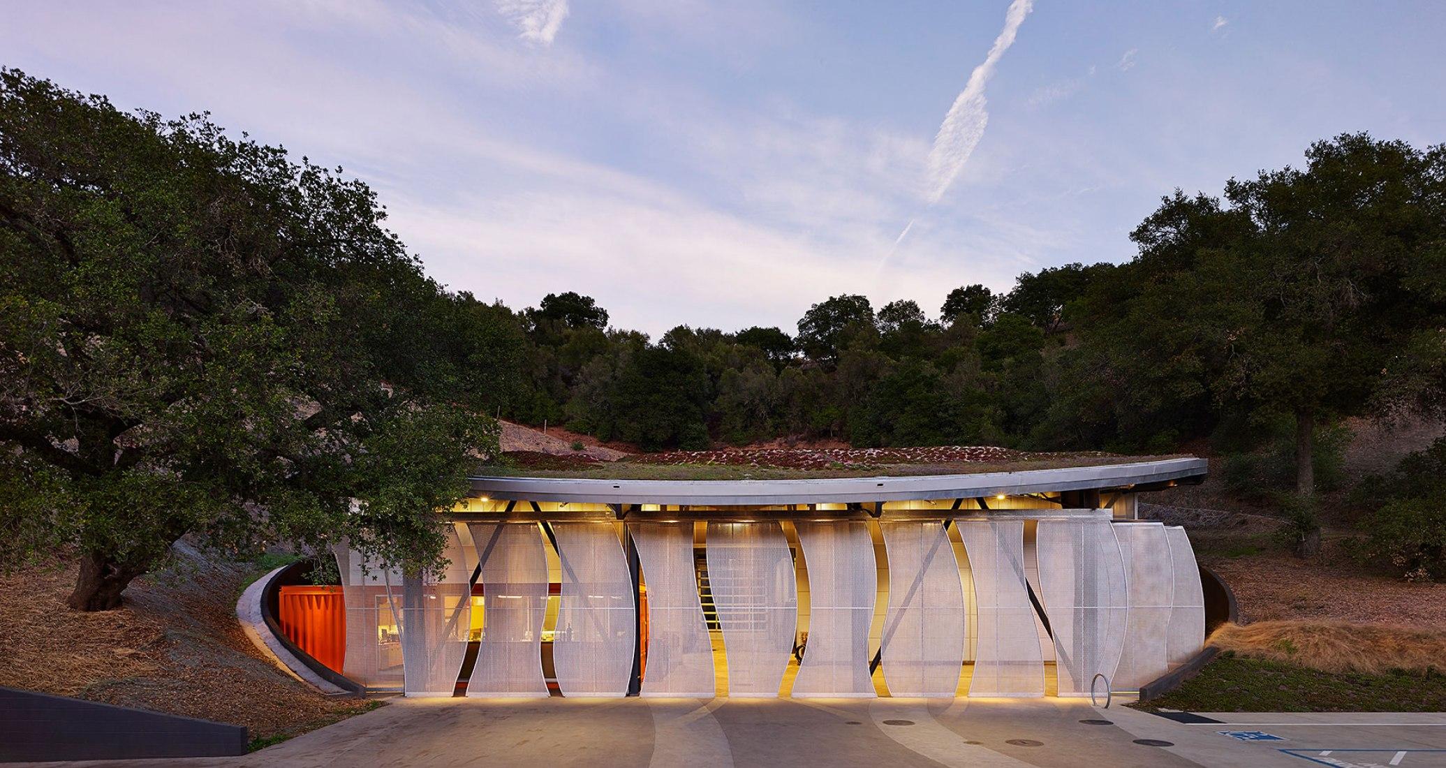 Bodega Odette Estate por Signum Architecture LLP. Fotografía © Adrian Gregorutti