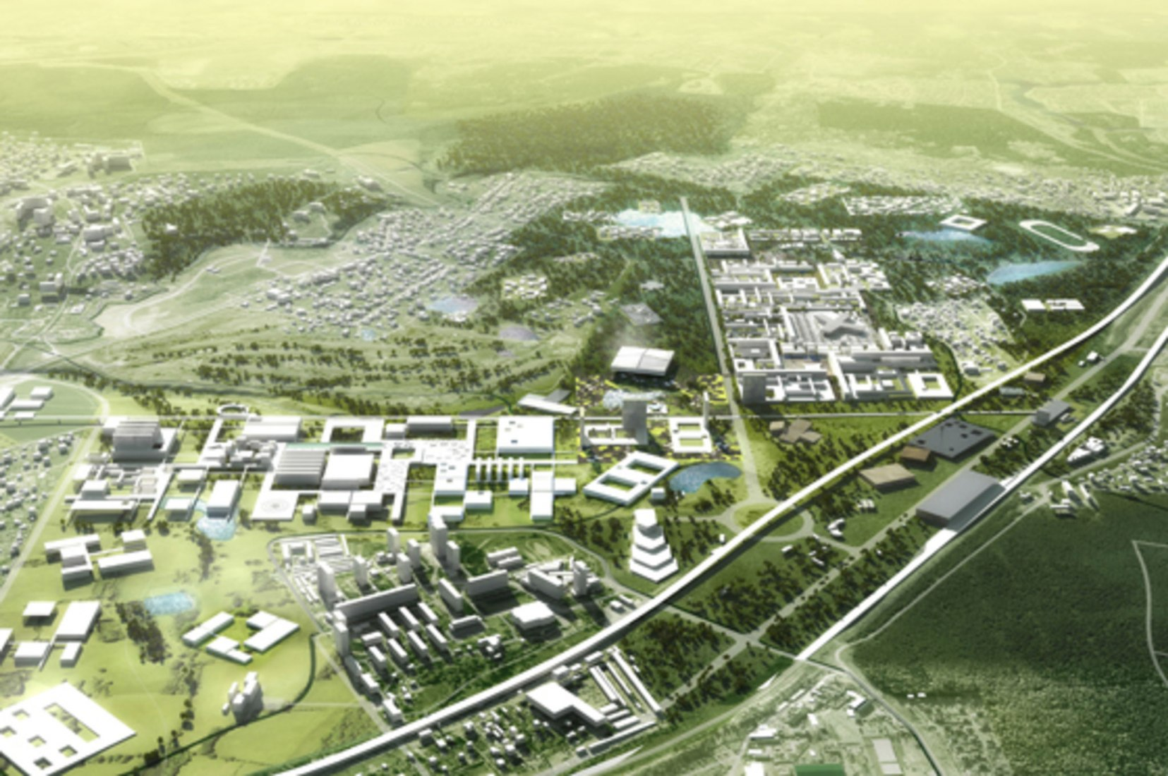 Skolkovo. Image courtesy of © OMA