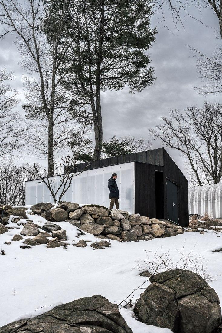 Small Wood Pavilion by MQArchitecture. Photograph by Miguel de Guzman, Imagen Subliminal.